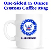 Custom 15 Ounce Mug - One Sided