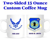 Custom 15 Ounce Mug - Two Sided
