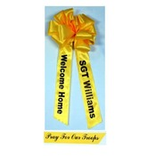 Custom 11 Inch Ribbon Bow